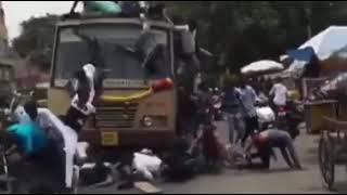 Bus acident