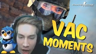 VAC MOMENTS! CS GO Stream Montage #25