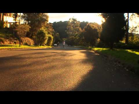 End of holidays longboarding