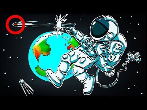Что Произойдет, Если Выстрелить в Космосе из Пистолета?