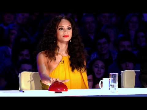 New judge Alesha Dixon gets lippy on Britain's Got Talent - preview clip