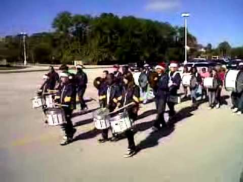 Calvary Christian Academy Ormond Beach FL Drumline part 2 - 11/15/2010