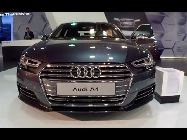 New 2017 Audi A4 S-Line - YouTube