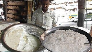 Dahi Chira @ 20 rs plate - Most Healthy Street Food in Kolkata - Indian Street Food