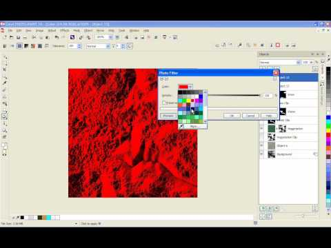 Tutorial | Creating natural looking landscapes with Corel® PHOTO-PAINT™ by using textures -