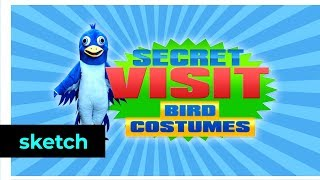 Secret Visit Bird Costumes | Klokko | Het Klokhuis