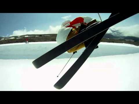 Ski clip by GoPro HD Naked HERO Camera Video review
