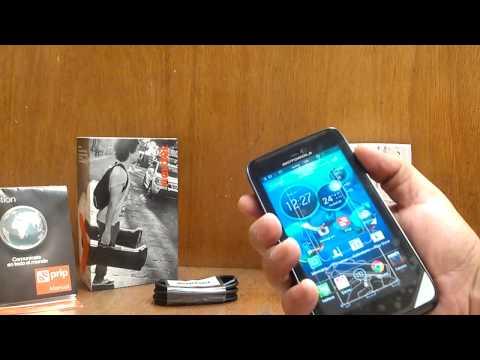Motorola Atrix HD Nextel Unboxing Mexico