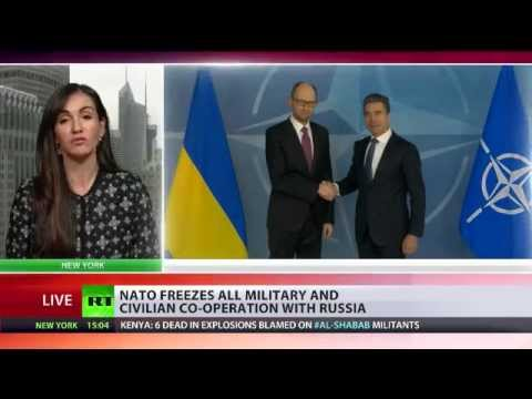 NATO freezes civilian & military cooperation with Russia
