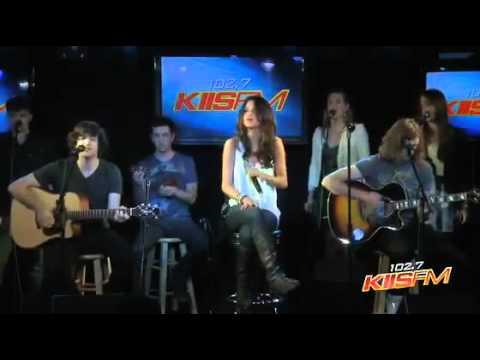 Selena Gomez   Naturally Acoustic (live On Kiis Fm 102,7) video