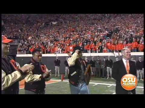 OSU Alumni Hall of Fame Induction at Homecoming 2009