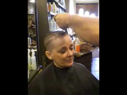 Head Shave After Brain Surgery 001avi YouTube