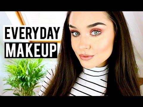 My Everyday Makeup Routine / Tutorial Spring 2016 ♡ Fresh Faced, Peach Makeup | KatesBeautyStation