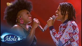 Top 3 Reveal Duets: Thato & Amanda Black – Idols SA | Mzansi Magic