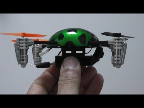 Mini FPV Quadcopter - Walkera QR Ladybird 2 unboxing Review