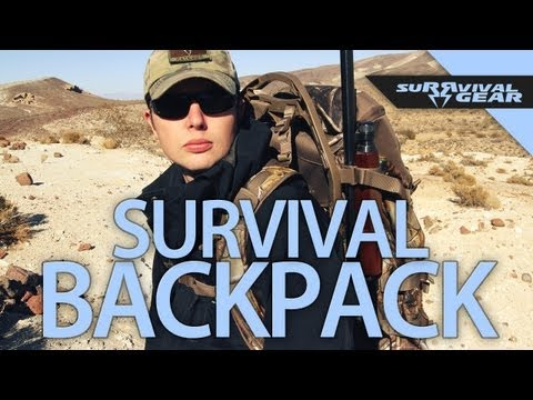 RedHead Spike Camp Frame Pack - SuRRvival Gear w/ Richard Ryan