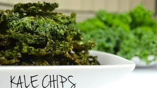 How to Make Crispy Kale Chips | HEALTHY SNACKS
