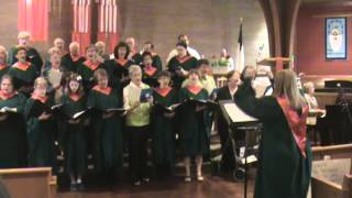 "Creation Choir - ""Go Now In Peace"" - 75th Anniversary Celebration, 05/19/13, Newport Lutheran Church"