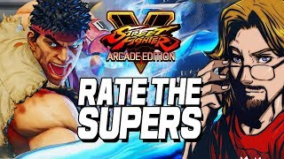 RATE THE SUPERS: Street Fighter V Arcade Edition