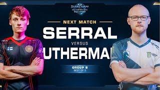 Serral vs uThermal ZvP - WCS Challenger 2018 Season 3 – EU