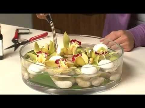 Centerpiece Ideas Orchids Floating Flower Designs