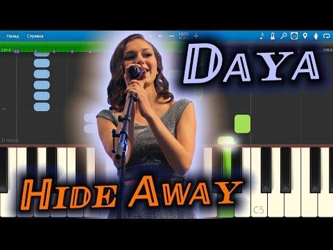 Daya - Hide Away [Piano Tutorial] Synthesia