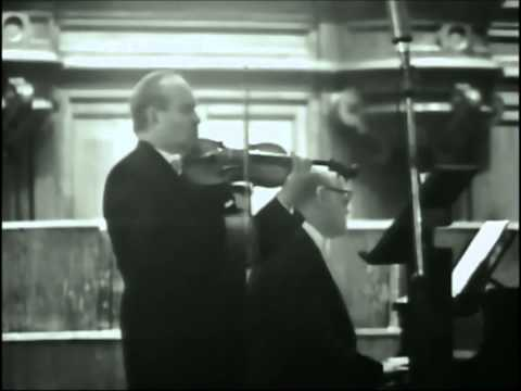 David Oistrakh - Brahms Violin Sonata N°2 in A major, 1. Allegro amabile