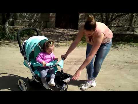 РАСПАКОВКА Детского велосипед-коляски Turbo Trike★Первое впечетление