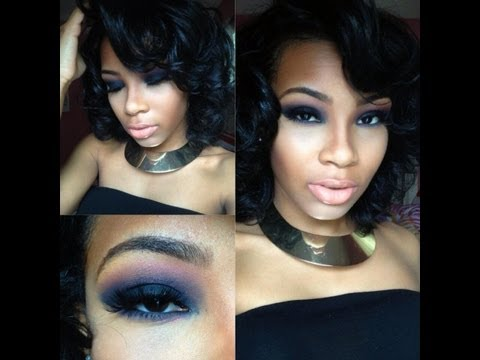 Hollywood glam Dramatic smokey eye | AaliyahJay