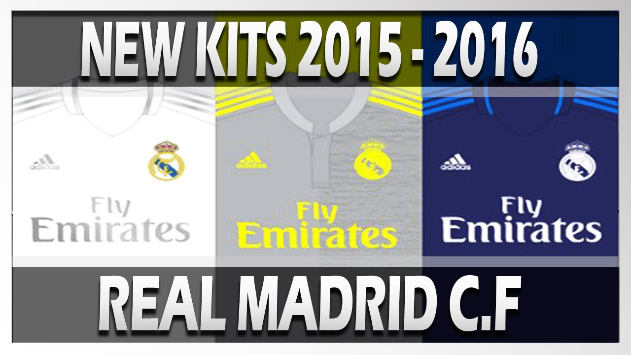 Real Madrid Players Kit Numbers New Kits Real Madrid cf