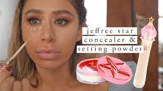 JEFFREE STAR MAGIC STAR CONCEALER & POWER REVIEW | 2 week test