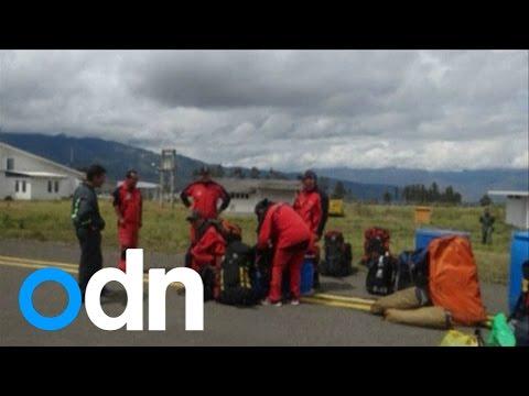 Rescuers help man trapped in 400m deep cave in Peru