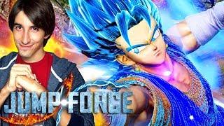La PRIMA MOD di JUMP FORCE: VEGITO SSJ BLUE! Jump Force Vegito Blue Gameplay ITA