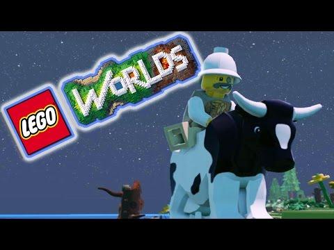 LEGO + MINECRAFT HAD THE SEX? | Lego Worlds