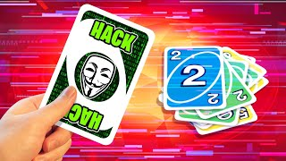 Using A *HACK CARD* In UNO! (Always Win)