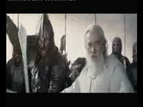 Lord of the rings - Helms deep charge