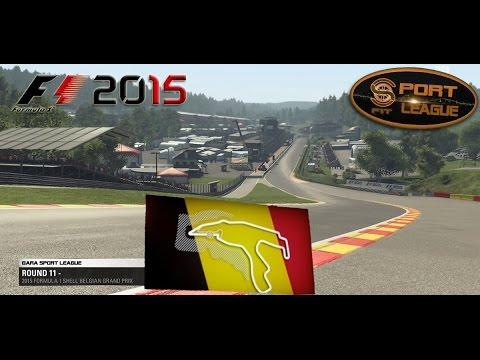 Sport League #11 GP SPA Belgio F1 2015 01.02.16 - Live Streaming 1080p HD