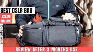 Amazon Basics DSLR Sling Camera Bag Review | For Nikon, Canon, Sony, and others