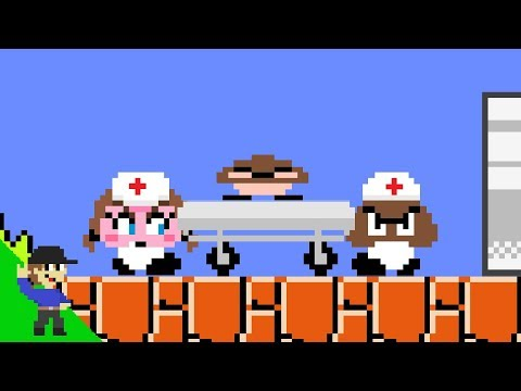 Here's what actually happens to stomped Goombas