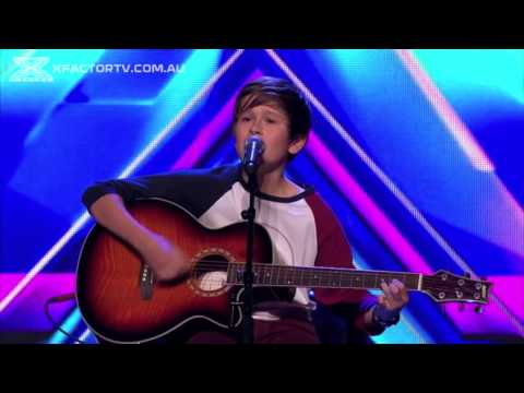 Jai Waetford Different Worlds & Don't Let Me Go Auditions The X Factor Australia 2013