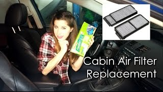 CABIN AIR FILTER REPLACEMENT!