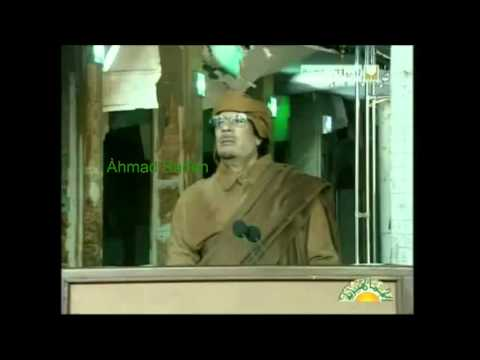Muammar Gaddafi - 22nd February 2011 (English) - PT 3