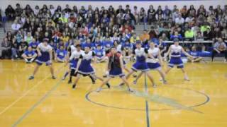 HILARIOUSLY AWESOME DANCE 3 By Carroll Senior Powderpuff Cheerleaders