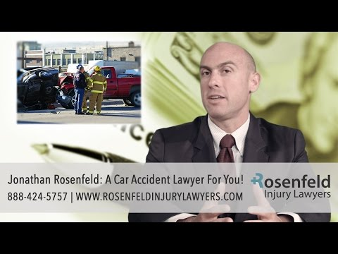Jonathan Rosenfeld: A Chicago Car Accident Lawyer For You!