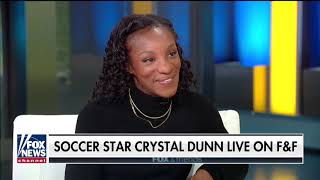 USWNT39s Crystal Dunn inspiring Americans on and off the field
