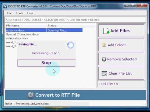 convert multiple docx files to pdf