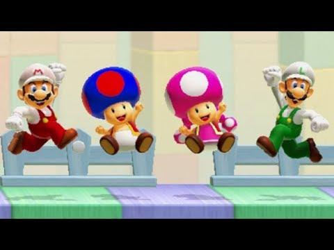 Super Mario Maker 2 - Online Versus Mode #1 (4 Player Matches)