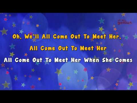 Karaoke - She'll be coming round the mountain | Karaoke Rhymes