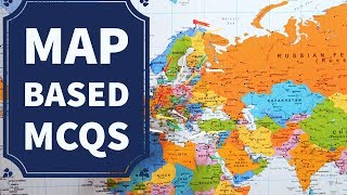 Expected Map based questions for UPSC, State PSCs, SSC etc.