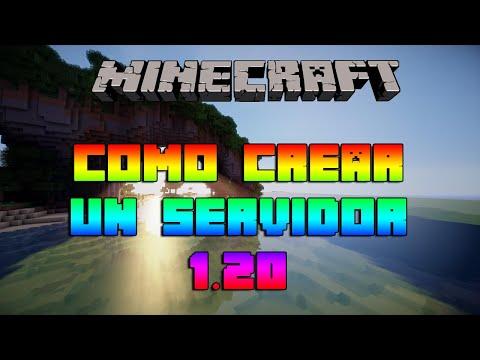 Como Crear un Servidor de Minecraft 1.12